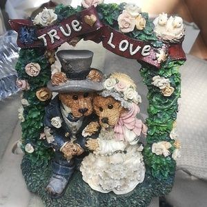 Bears True Love Figurine and Pillow